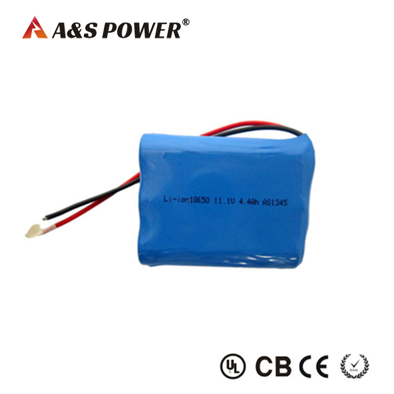 Li-ion 18650 11.1v 4.4ah Battery