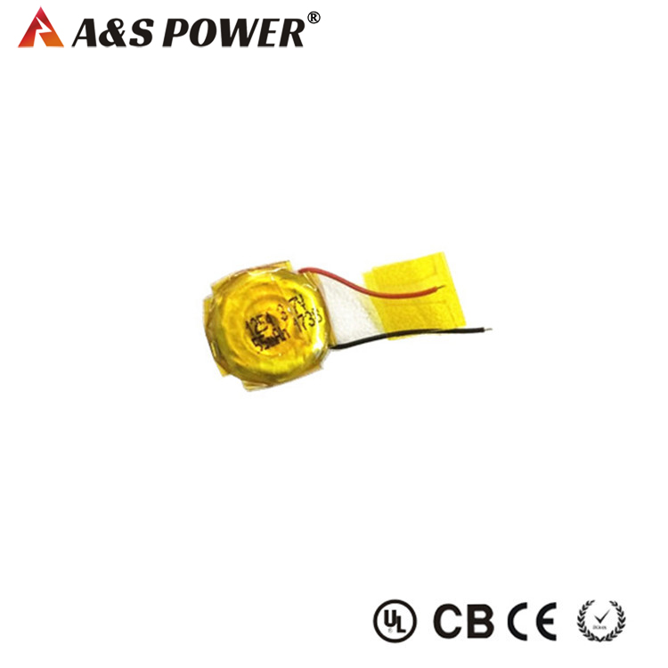 65120 3.7V 55mah lithium polymer button lipo battery