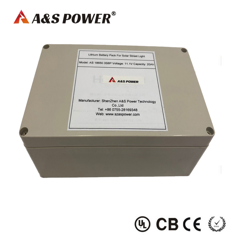 11.1V 20AH 3S8P lithium ion battery