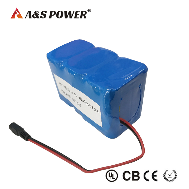 18650 11.V 12Ah 3S6P lithium ion battery