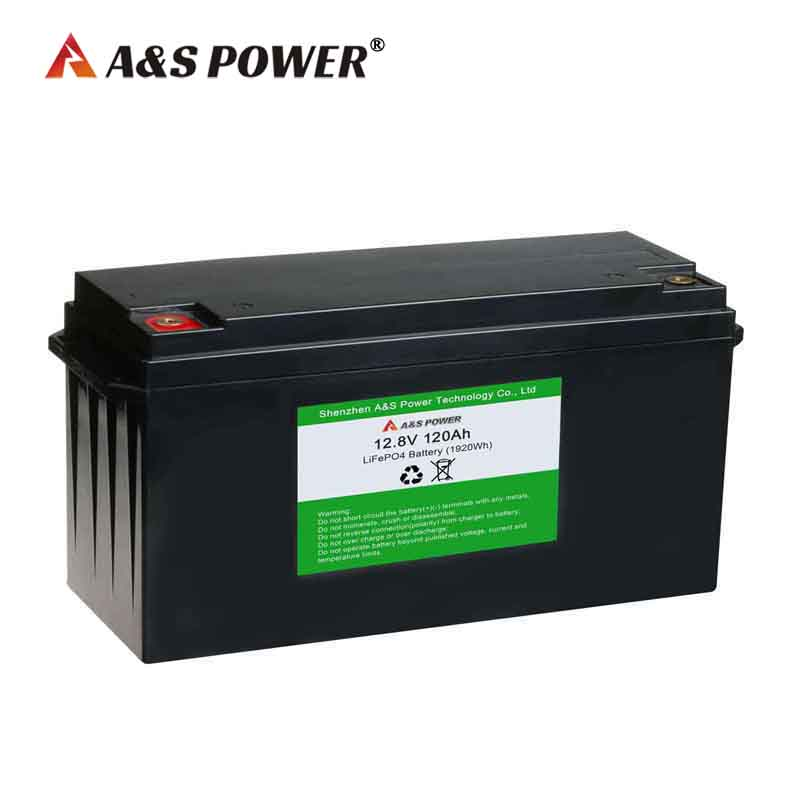 12v 120Ah lifepo4 battery for solar street light and storage