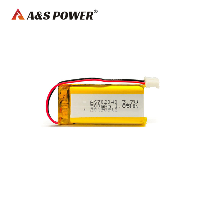 UL CB KC 702040 3.7V 500mah lithium polymer battery