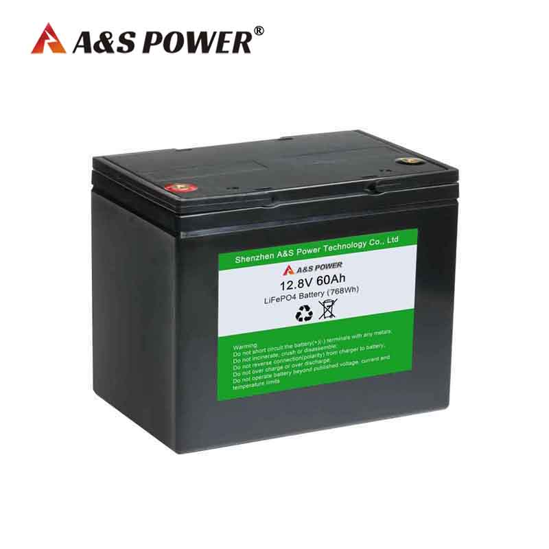 12.8v 60ah lifepo4 battery for...