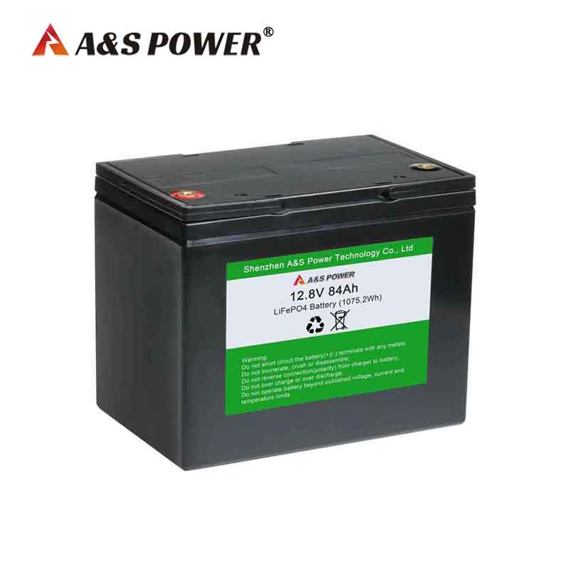 12.8v 80ah / 84ah lifepo4 battery for solar &wind power system