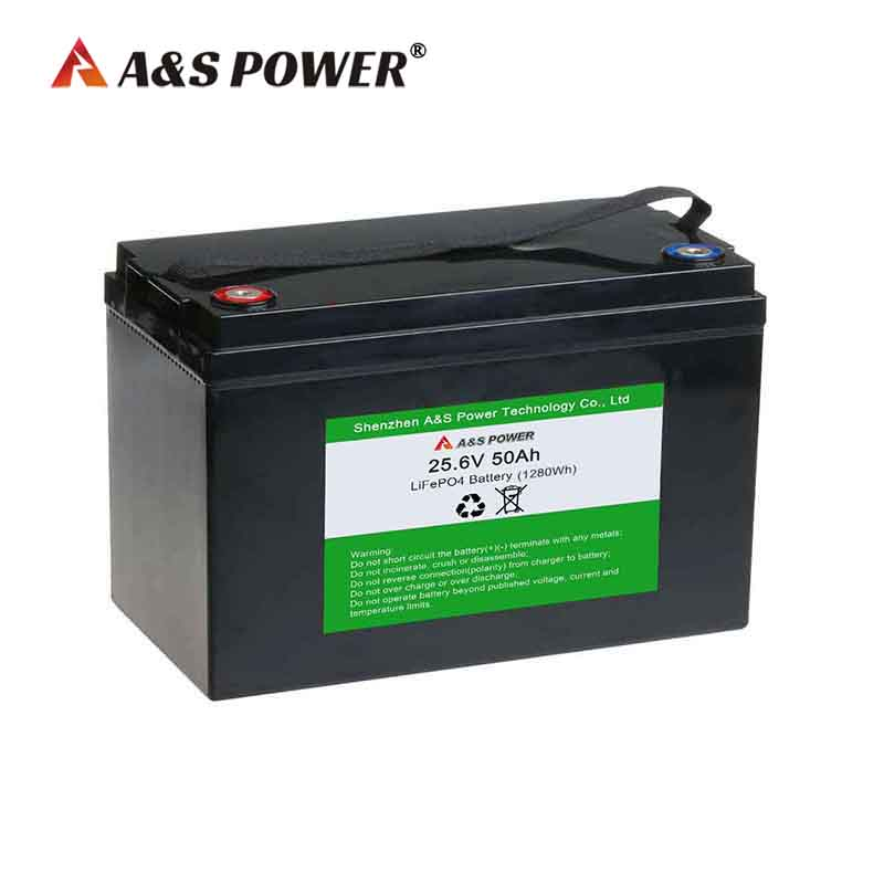 24v 50ah lifepo4 battery for s...